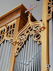 The cross of St. Cuthbert