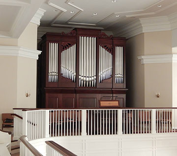 The new organ for Somers, CT
